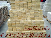 Yellow Travertine Tumbled